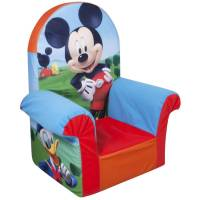 Marshmallow High Back Chair, Disney Mickey Mouse Club