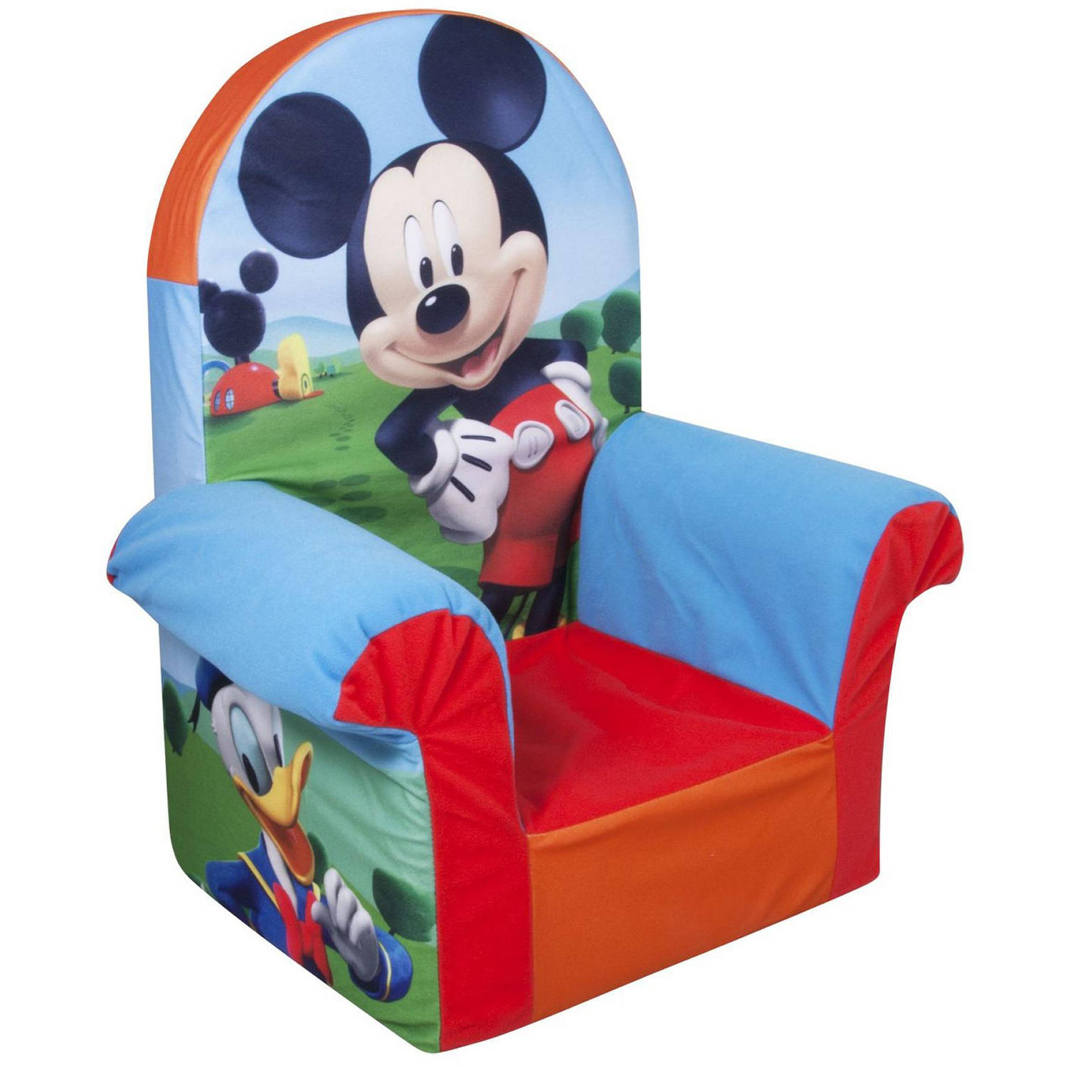 Toddler Soft Chairs Marshmallow Furniture Children S Foam High Back Chair Doc Mcstuffins High Back Chair