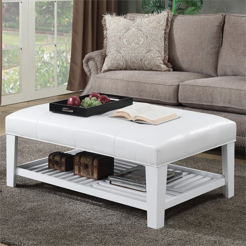 ottoman coffee tables living room hotel convenience concepts designs4comfort table in white