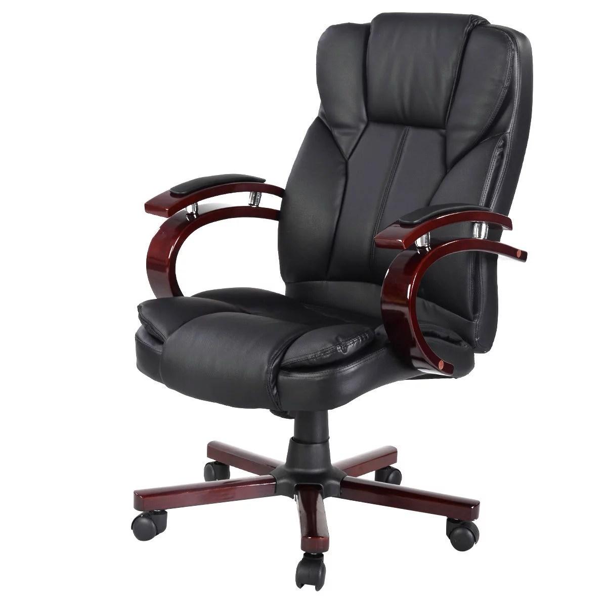 office chair high back wedding covers hire huddersfield costway ergonomic desk task executive computer new style walmart com