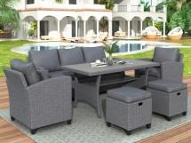 urhomepro outdoor sectional sofa