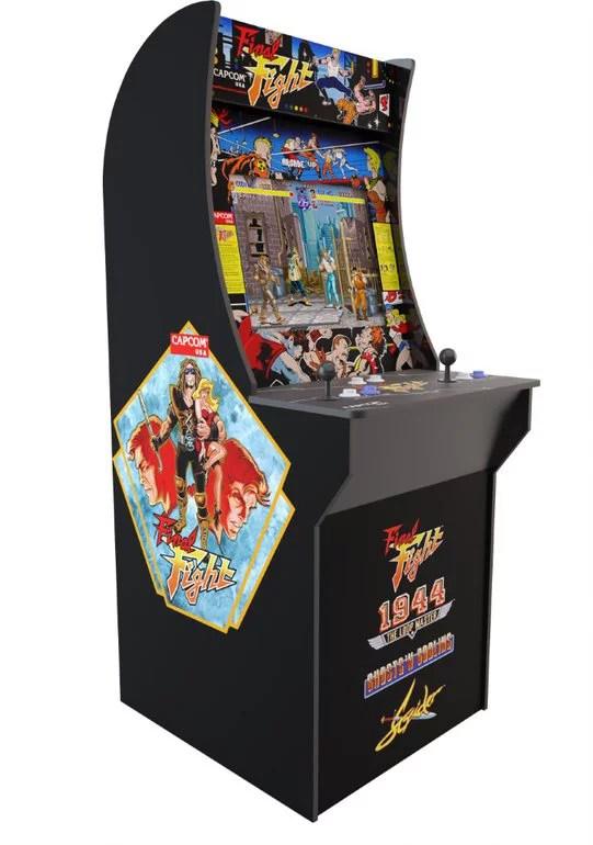 Final Fight Arcade Machine Arcade1up 4ft Walmart