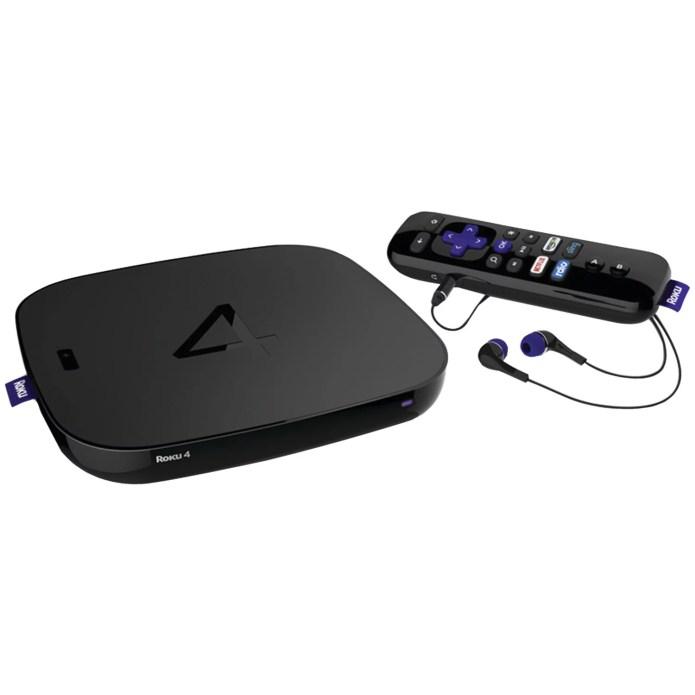 Roku 4400R Roku 4 Streaming Media Player - Walmart.com - Walmart.com