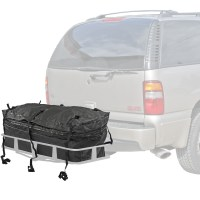 Waterproof Hitch Cargo Carrier Rack Bag with Expandable ...