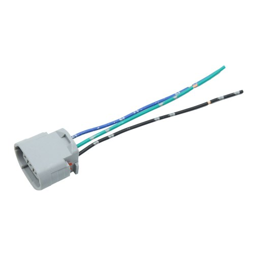 small resolution of gray dc 12v universal ignition coil plug wiring harness connector for cars walmart com