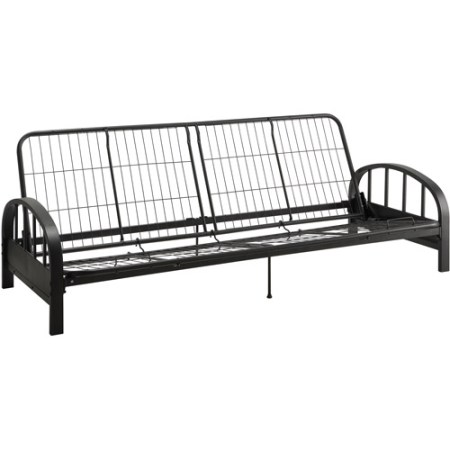 Aiden Metal Futon Frame Black