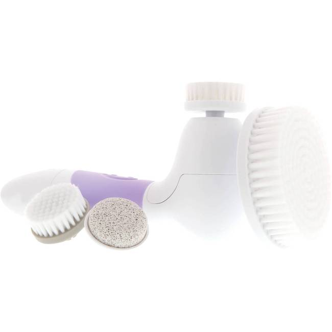 Vanity Planet Spin for Perfect Skin Face and Body Brush with Attachments