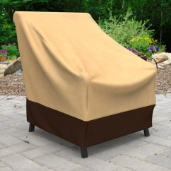 Patio Chair Covers At Walmart Munchkin High Budge Industries All Seasons Polypropylene Outdoor Cover Com