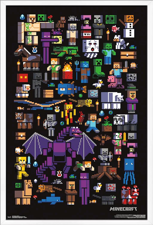 minecraft mobbery poster walmart com