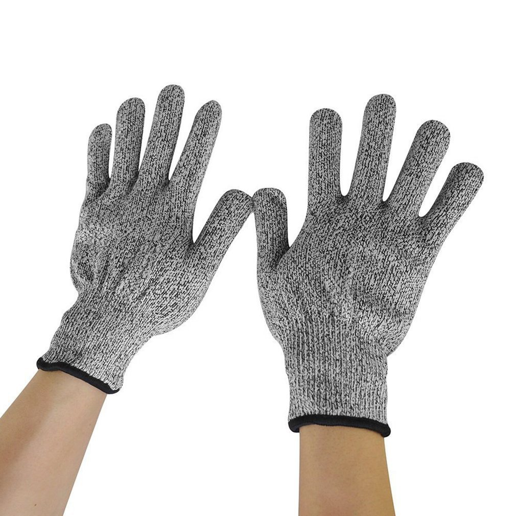 kitchen gloves triangle cabinets 1 pair anti cut wear resistant working safety level 5
