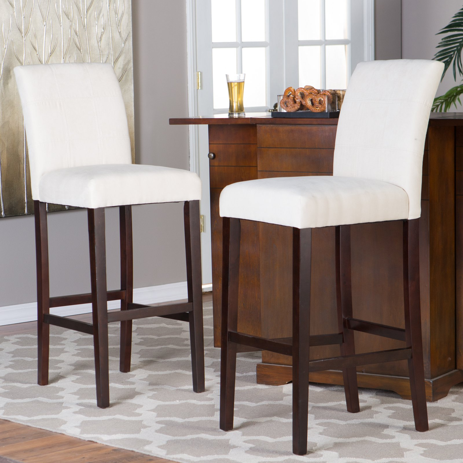high bar stool chairs chair covers for hire perth finley home palazzo extra tall set of 2 walmart com