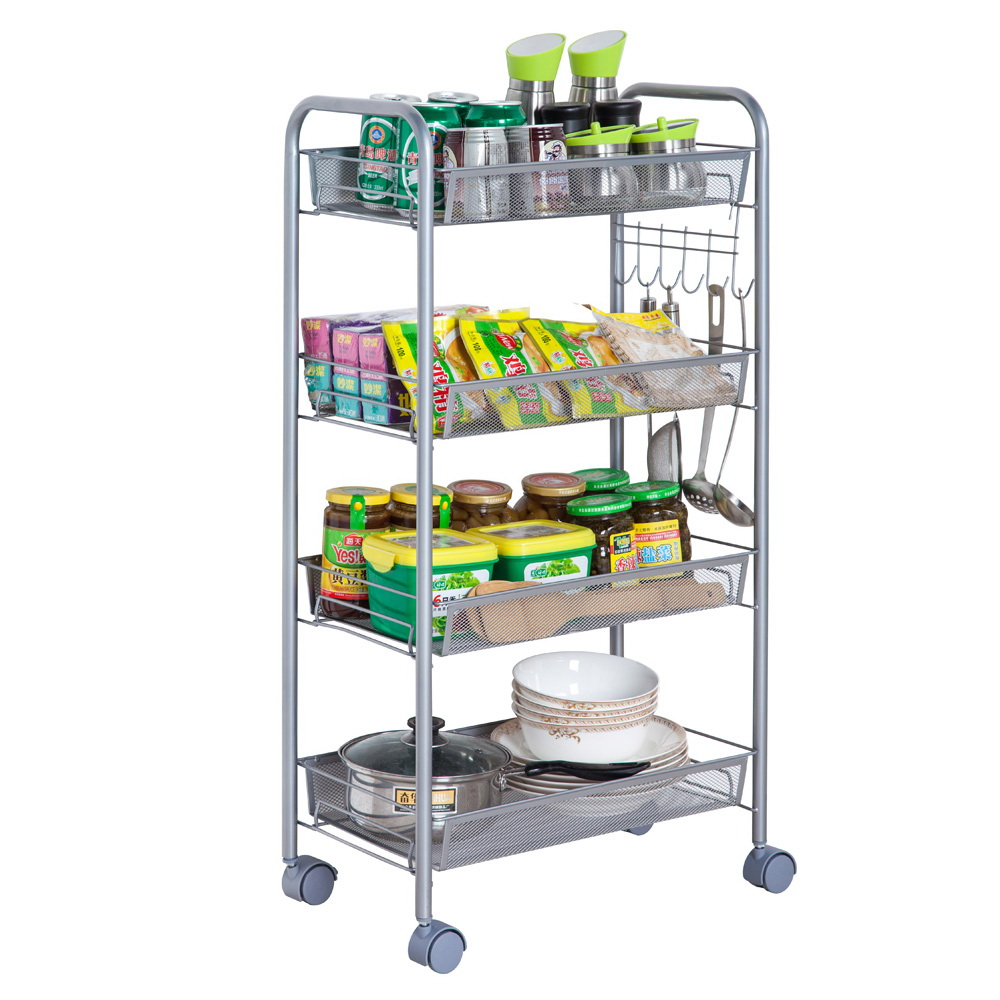 kitchen pantry storage 4 hole faucet ktaxon tier shelf shelving rack rolling qty