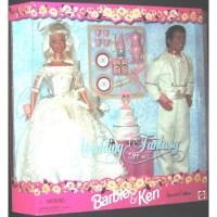 Barbie and Ken Wedding Fantasy Gift Set Special Edition ...