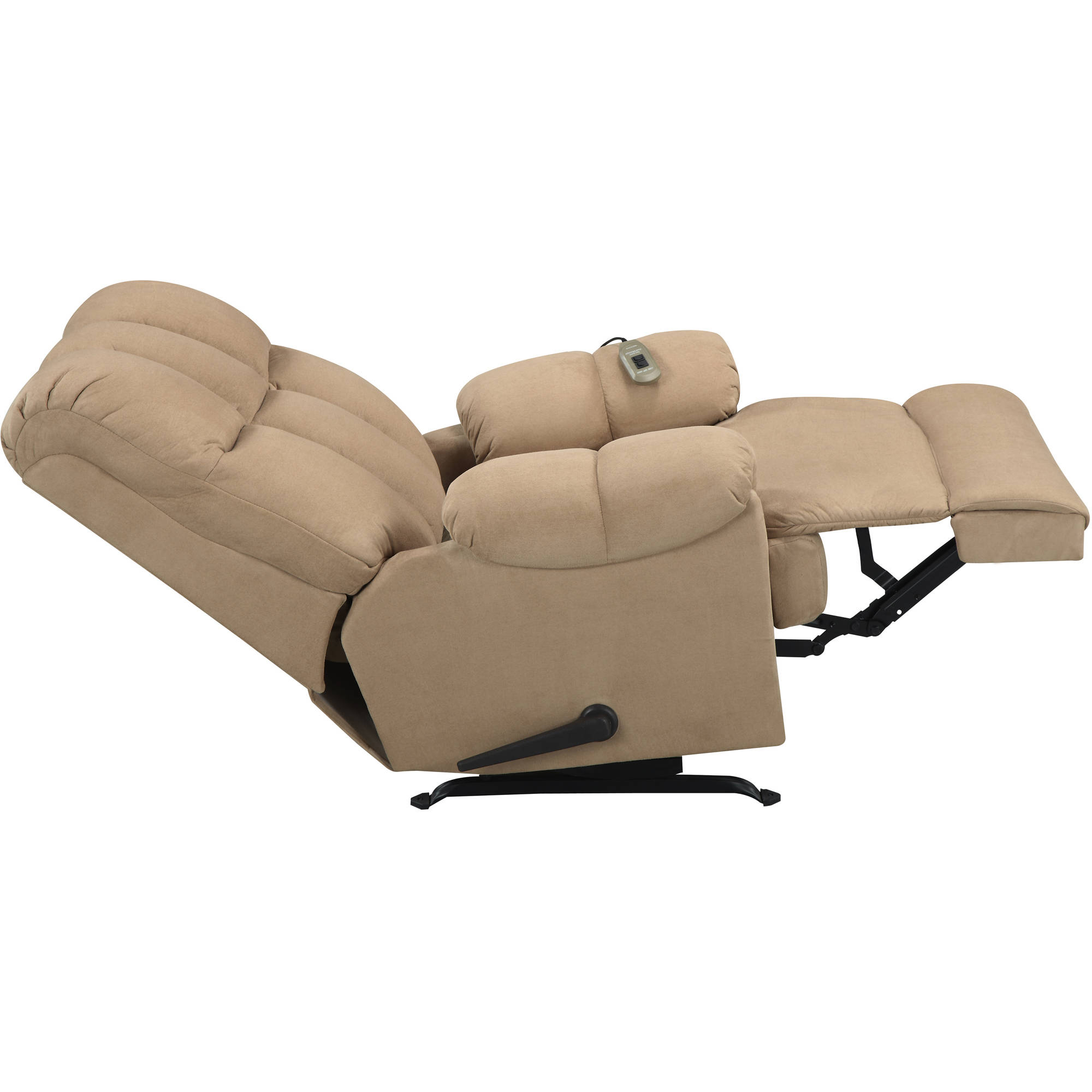 lazy boy massage chair hang a round recliner microfiber padded dual
