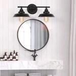 2 3 Light Vintage Bathroom Vanity Light Fixture Industrial Wall Sconces Rustic Farmhouse Style Wall Lamp For Bathroom Vanity Mirror Cabinets Dressing Table Walmart Com Walmart Com