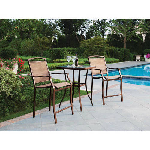 tell city chairs pattern 4222 curved chaise lounge chair mainstays sand dune 3 piece high outdoor bistro set tan walmart com