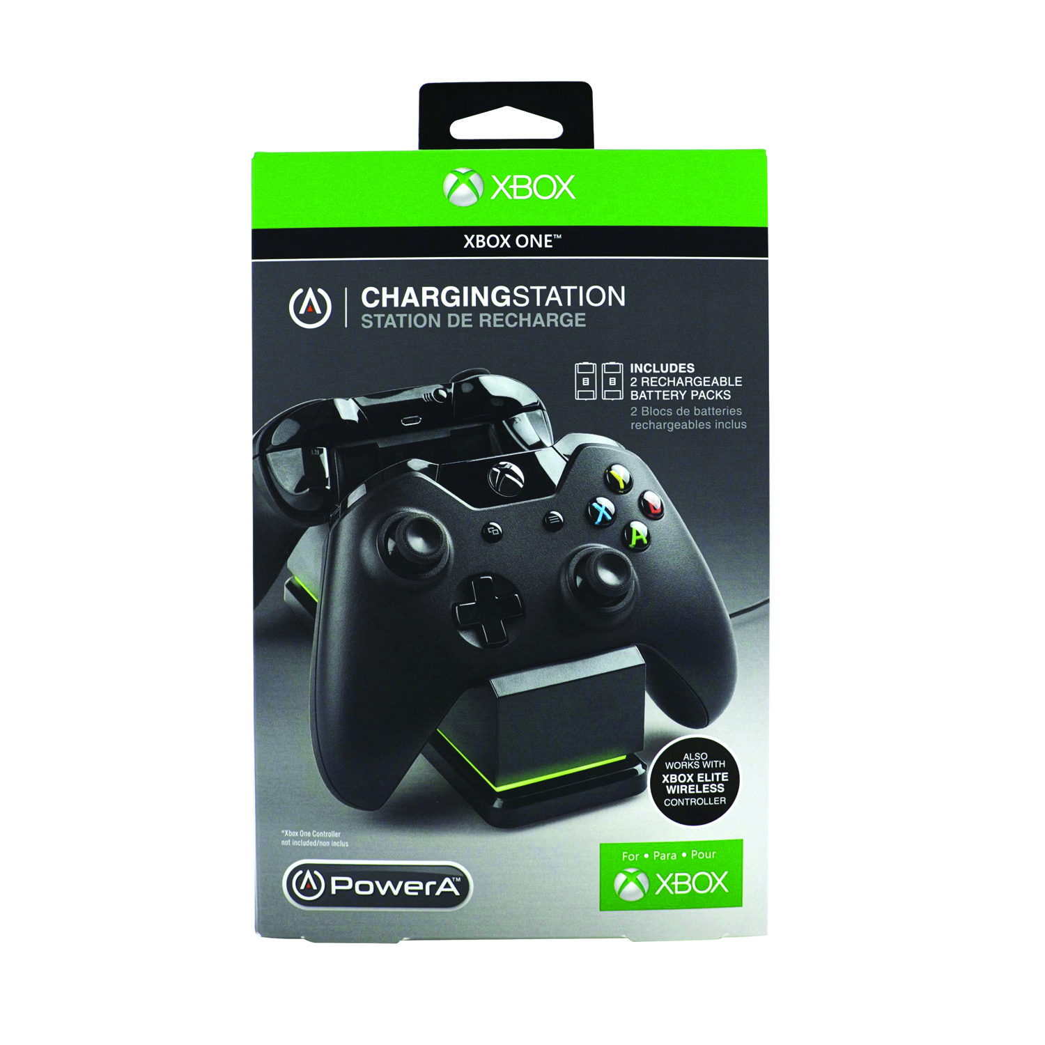 hight resolution of powera charging station for xbox one black cpfa114326 02 walmart com