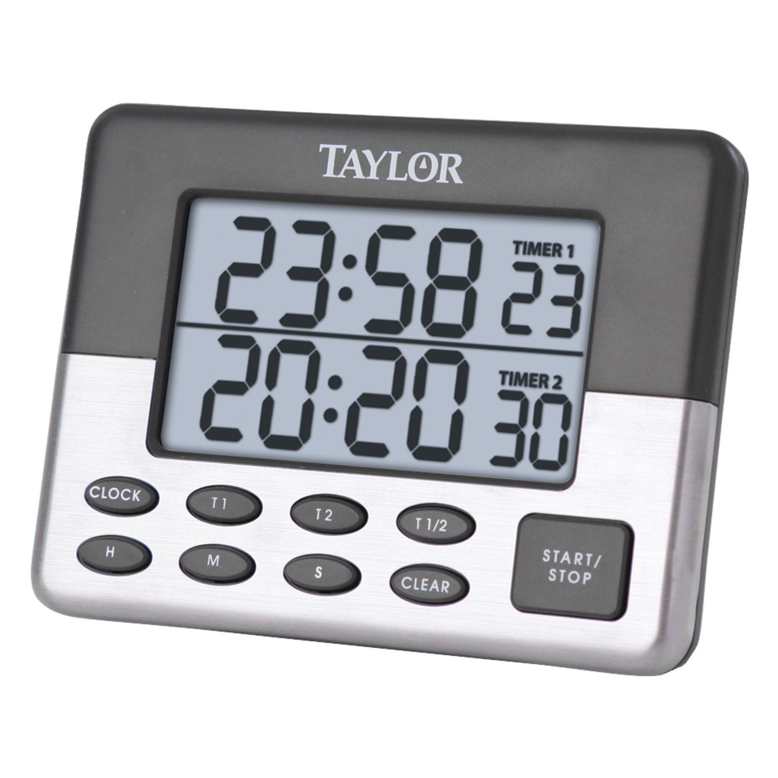 taylor kitchen timer lighting flush mount 5872 9 dual event digital walmart com