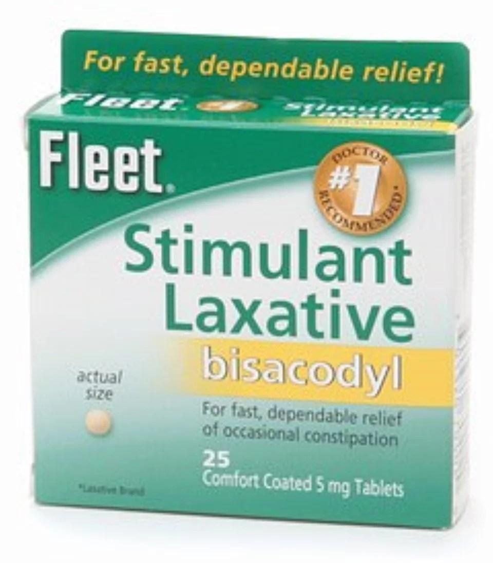 Fleet Laxative Tablets 25 Tablets (Pack of 3) - Walmart.com