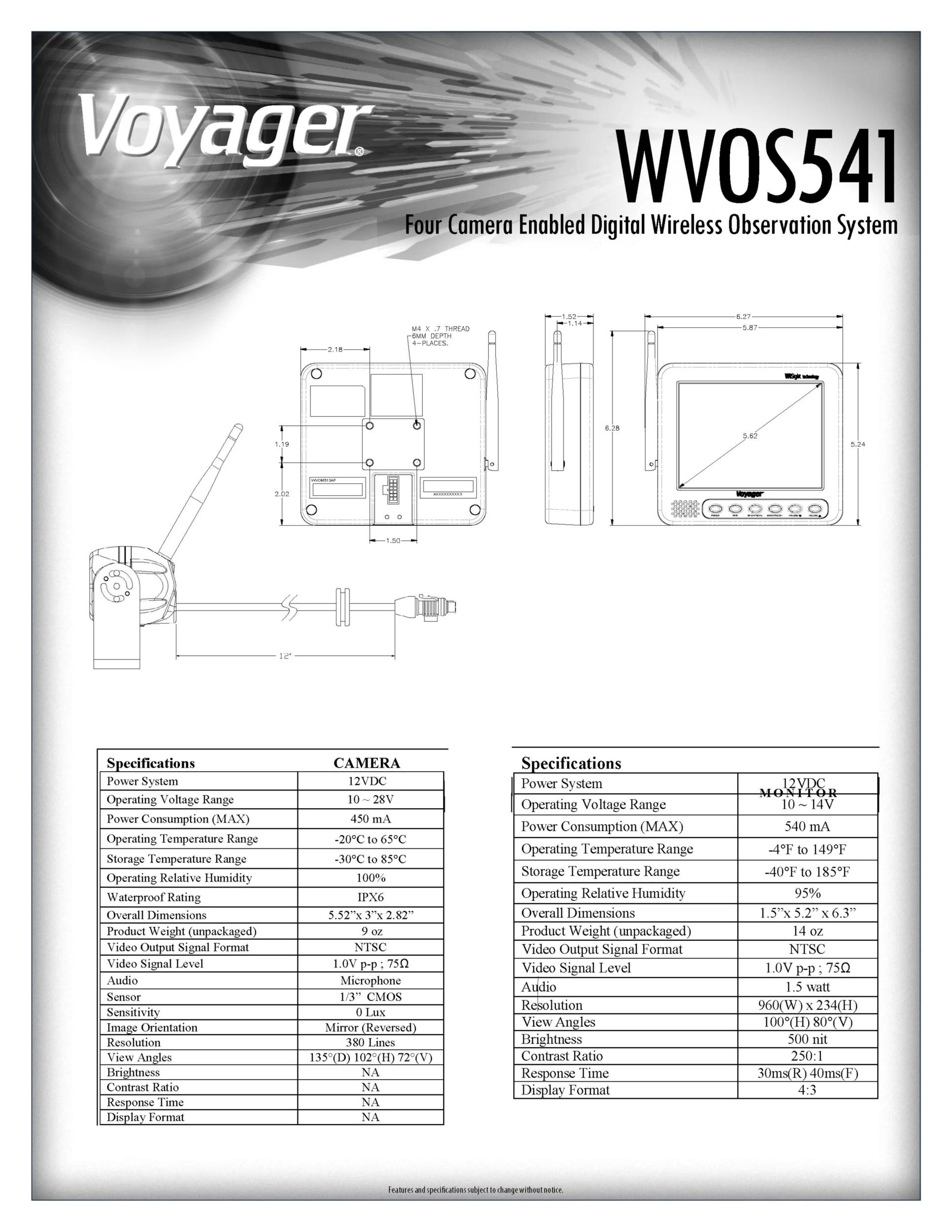 hight resolution of voyager camera wiring diagram smokercraft wiring diagram 7 pin trailer wiring diagram trailer brake battery wiring