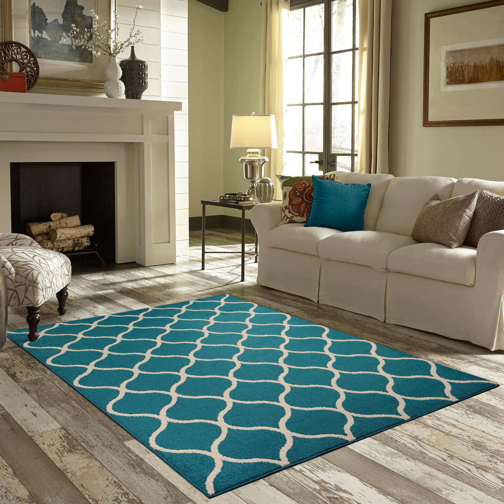 Teal And Yellow Rug Rugs With Teal Roselawnlutheran