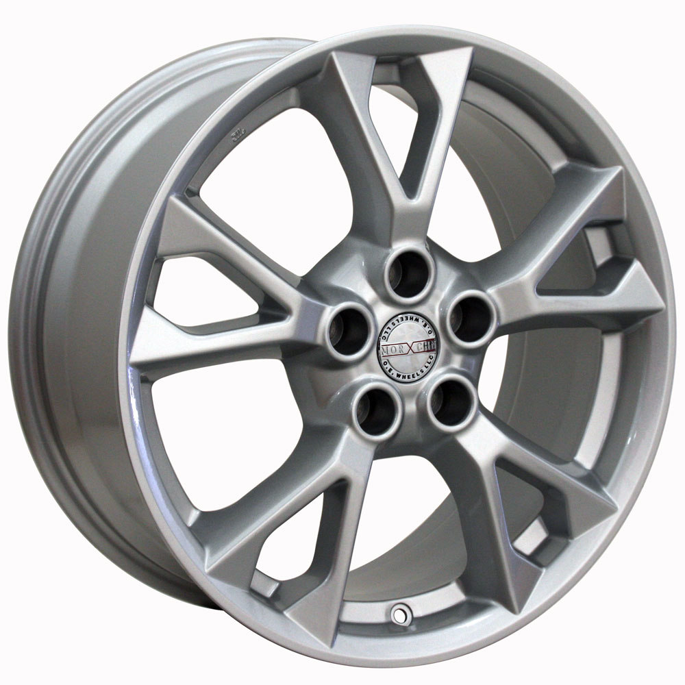 medium resolution of 18x8 wheel fits nissan infiniti nissan maxima style silver rim hollander 62582 walmart com