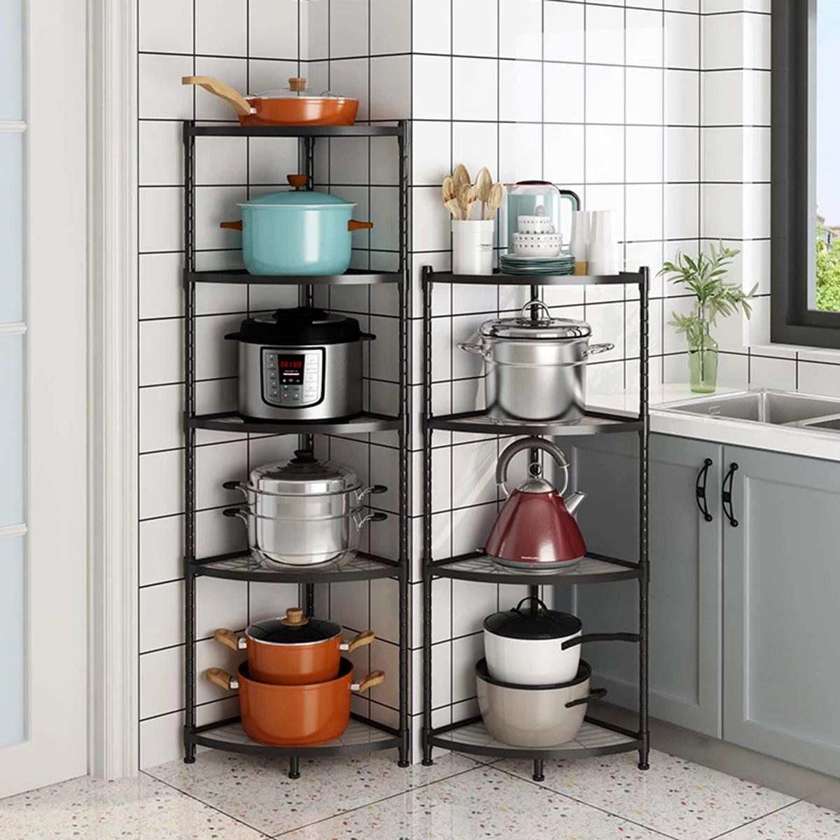 Corner Steel Rack For Kitchen Novocom Top