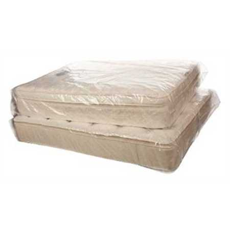 Cresnel King Size Extra Thick 4 Mil Heavy Duty Mattress Bag Fits Standard
