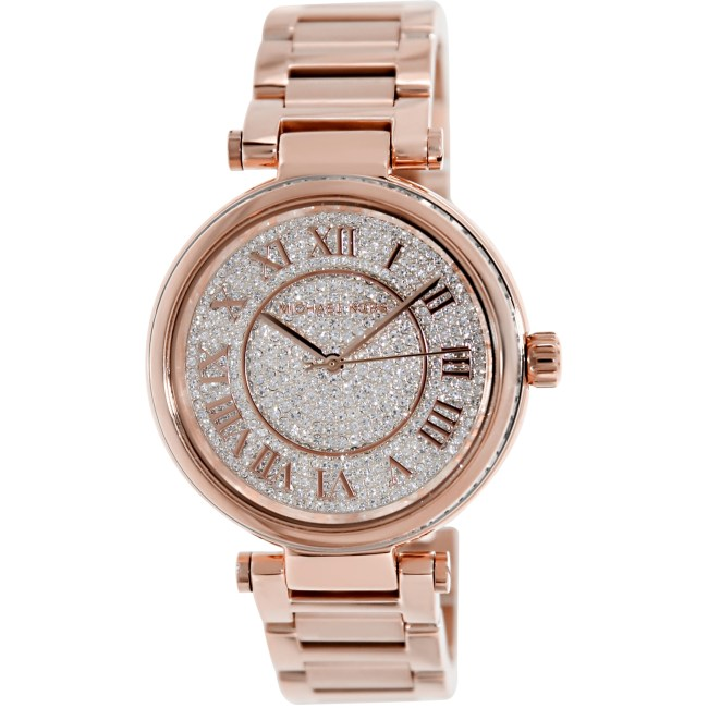 Michael Kors Women's Skylar MK5868 Rose-Gold Stainless-Steel Quartz Fashion Watch