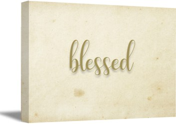 Awkward Styles Blessed Cute Wall Art Inspirational Quotes Wall Decor Motivational Wall Art Home Decor Gifts Living Room Decor Religious Gifts Religious Quote Wall Art Inspirational Wall Decor Walmart com Walmart com