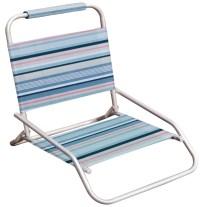 Hawaiian Tropic one position folding beach chair