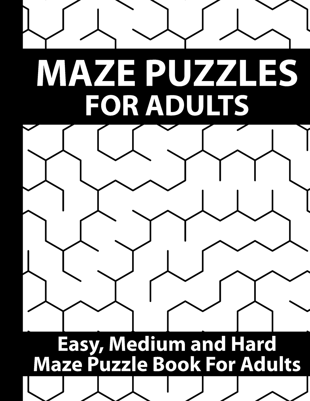 Maze Puzzles For Adults Amazing Brain Challenging Maze