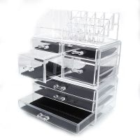 Zimtown Cosmetic Makeup Case Lipstick Jewelry Brush Holder
