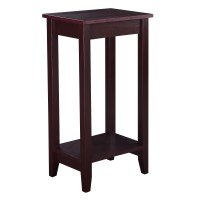 Costway Tall End Table Coffee Stand Night Side Nightstand ...