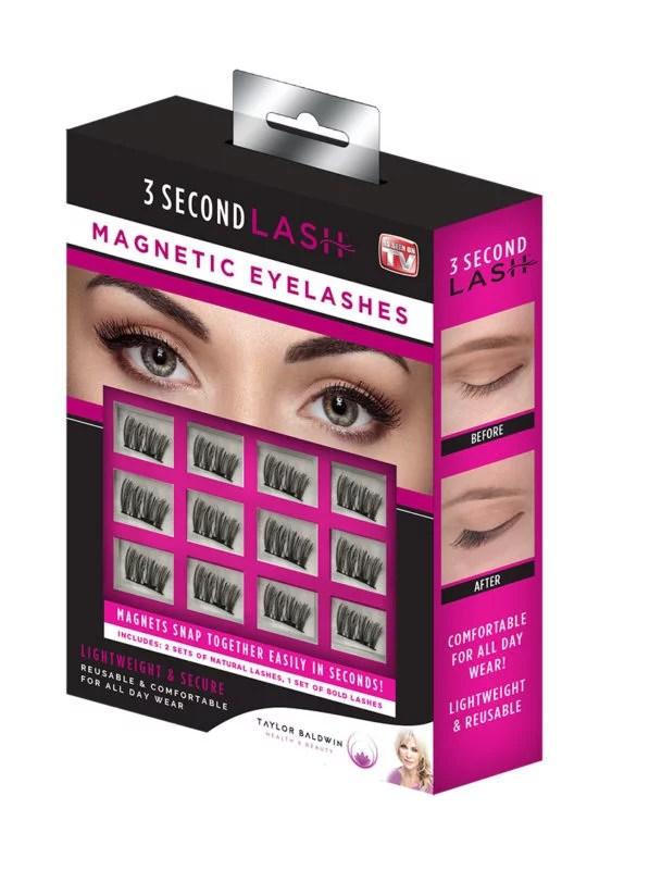 As Seen On TV 3 Second Lash Magnetic Eyelashes  Walmartcom
