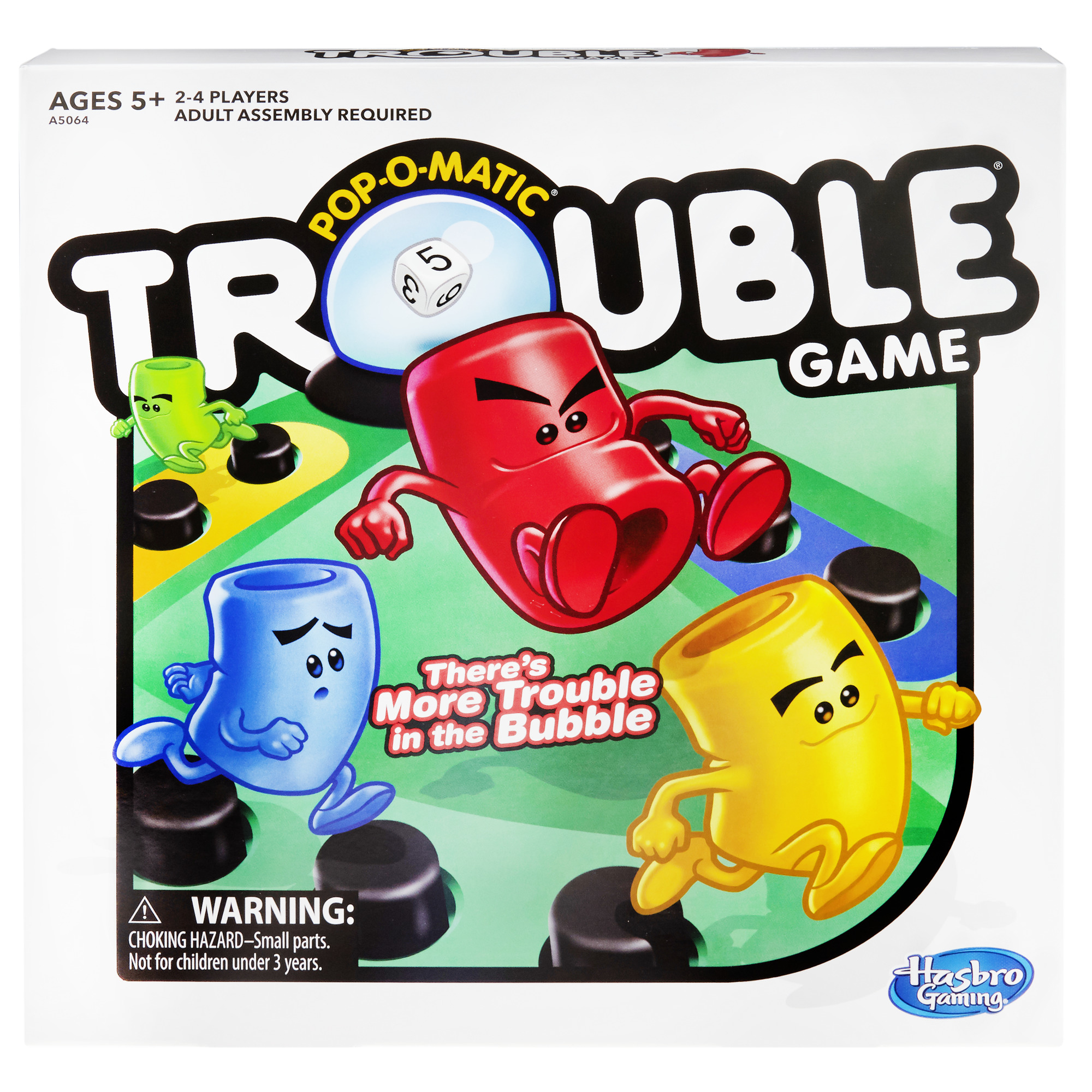 trouble board game for