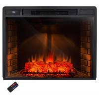 33 Inch Electric Fireplace Insert with Remote Control ...