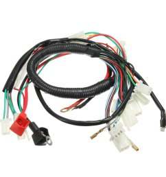 wiring harness loom for chinese electric start quads atv 50 70 90cc 110cc 125cc walmart com [ 1200 x 1200 Pixel ]