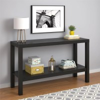 Mainstays Parsons Console Table, Multiple Colors Available ...