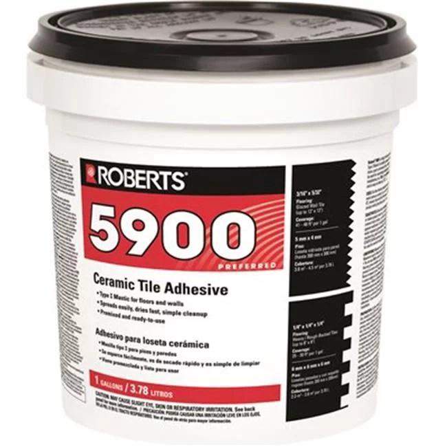 roberts 5900 1g roberts ceramic tile adhesive 1 gal