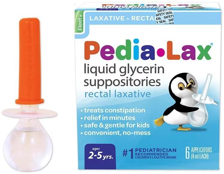 Pedia-Lax Liquid Glycerin Suppositories Laxative | Kid's ...