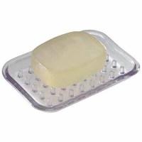 InterDesign Plastic Bar Soap Holder for Bathroom Shower ...
