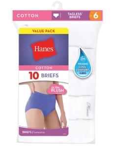 also hanes women   cotton brief panties pack walmart rh