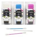400 Ct Cotton Swabs Double Tipped Applicator Q Tip Safety Ear Wax Makeup Remover