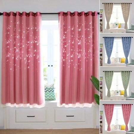 Fuschia Pink Eyelet Blackout Curtains Www Myfamilyliving Com