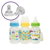 Parent's Choice BPA Free Baby Bottles - 5-oz - Walmart.com