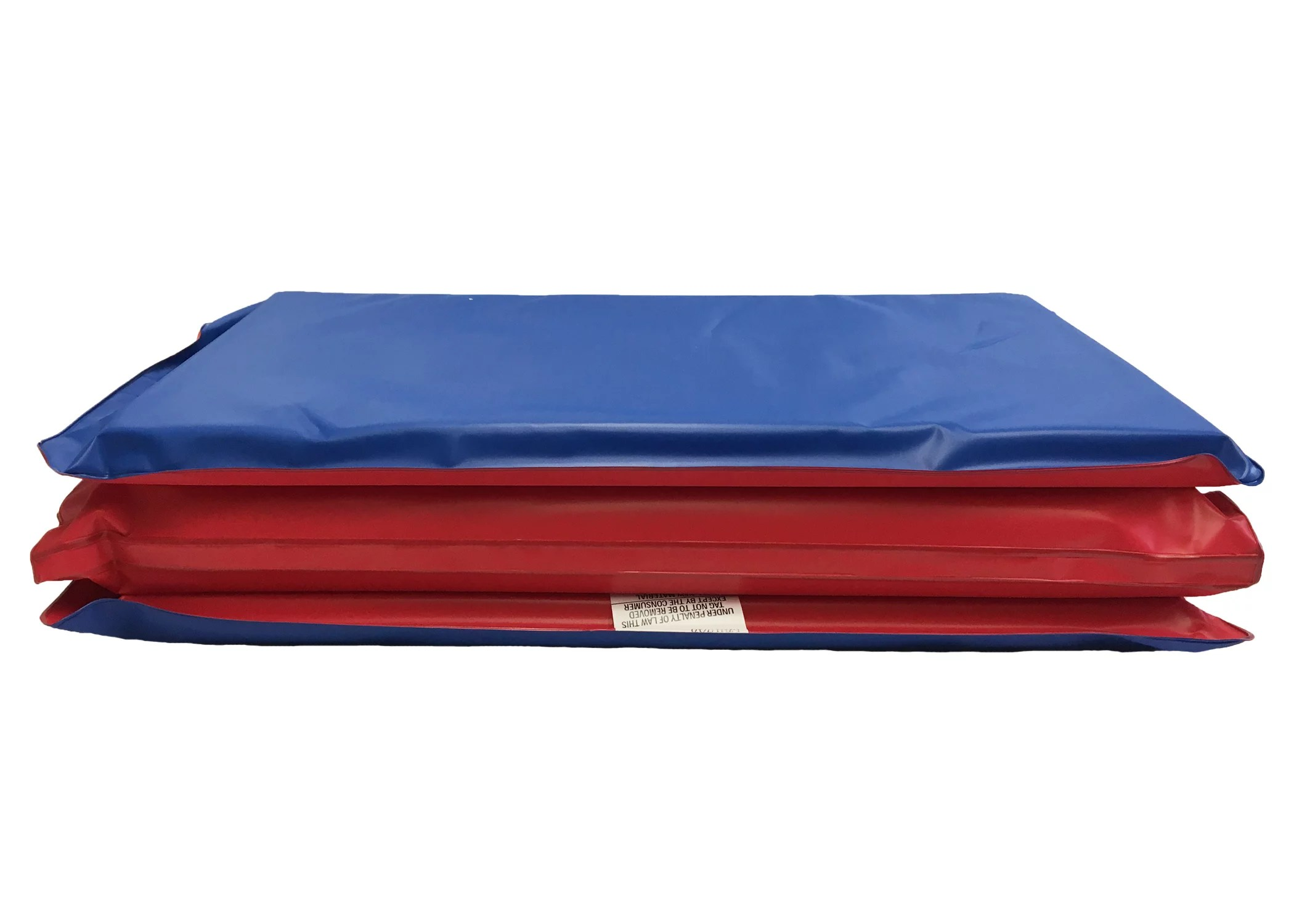 Peerless Plastics Red/Blue KinderMat, 1″ x 19″ x 45″