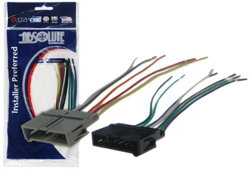 Absolute USA H6341817 Radio Wiring Harness for Chrysler