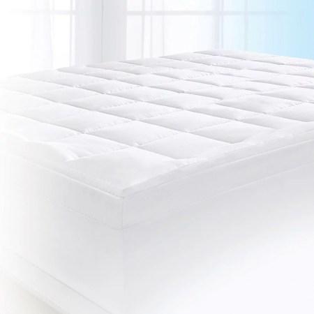 Serta 4 Pillow Top And Memory Foam Mattress Topper