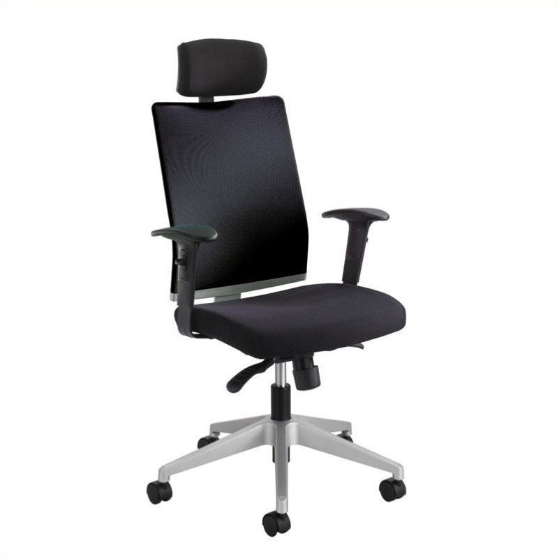 add on headrest for office chair black crushed velvet bedroom safco tez manager with in walmart com